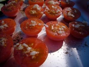 Tomater till torkning