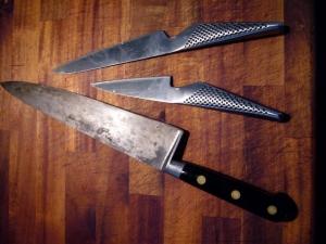 Mina mest använda knivar