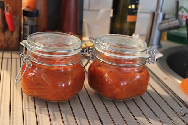 Tomatsås, på burk!