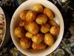 Helstekt potatis i ugnen