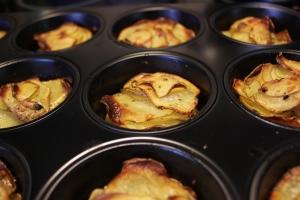 Potaisskivor i muffinsform